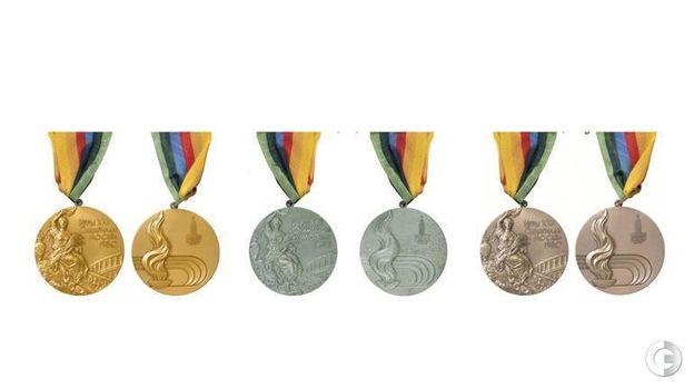 Бонус. Медали Олимпийских игр-1980 в Москве.