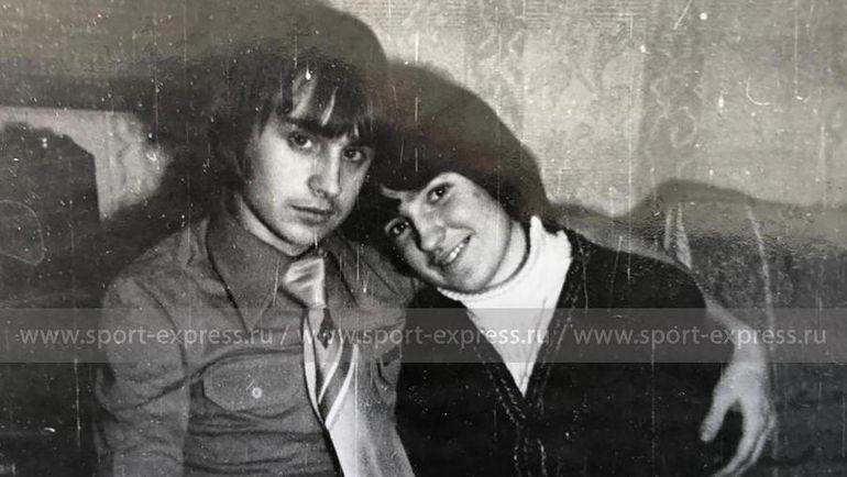 Федор Черенков с Ольгой. Фото из архива семьи Черенковых