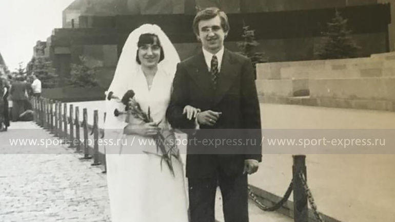 Свадьба Федора и Ольги Черенковых. Фото из архива семьи Черенковых