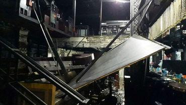 Спортсмены обрушили балкон. Есть жертвы