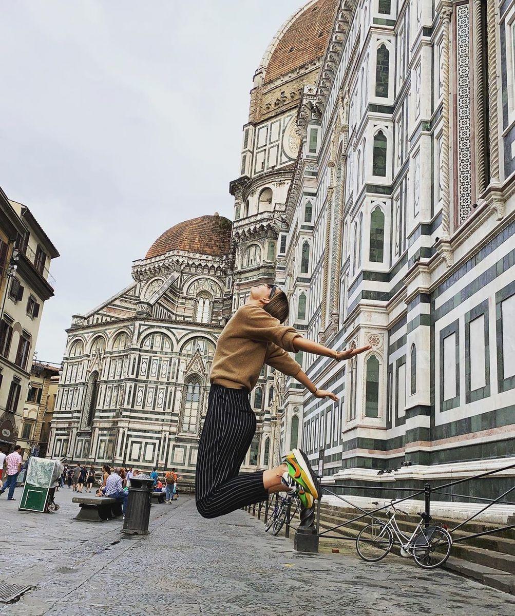 Шарапова в восторге от Флоренции. А как же теннис?!