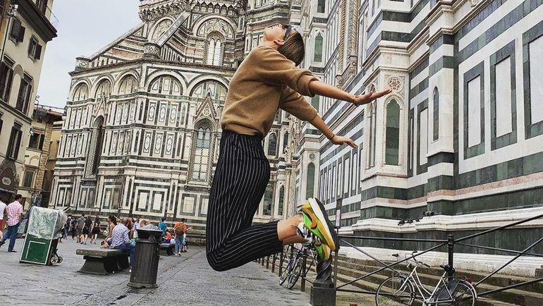 Мария Шарапова в Флоренции. Фото instagram.com