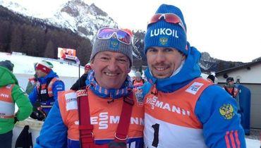 Маркус Крамер (слева) и Сергей Устюгов.