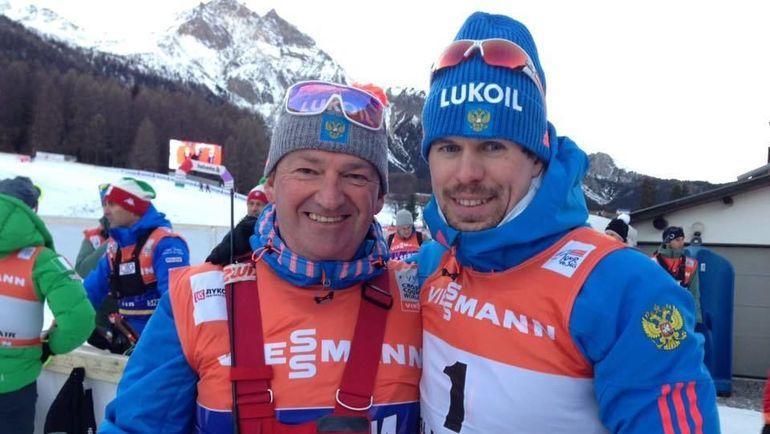 Маркус Крамер (слева) и Сергей Устюгов. Фото СБР