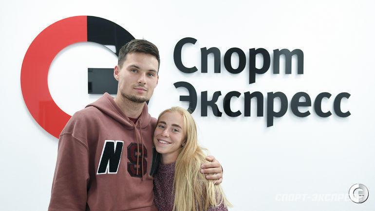 1 августа. Москва. Артем Макаренко и Кристина Сивкова.