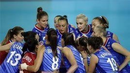 2 августа. Калининград. Россиянки начали олимпийский отбор с победы.