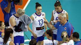 3 августа. Калининград. Россия - Канада - 3:0. Россиянки одержали вторую победу в олимпийской квалификации.