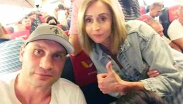 Кличко покинул Украину