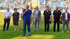 Выступление председателя высшего совета Федерации регби России и главы ФАС Игоря Артемьева.