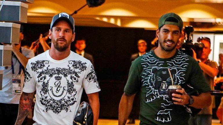 Лионель Месси и Луис Суарес. Фото instagram.com