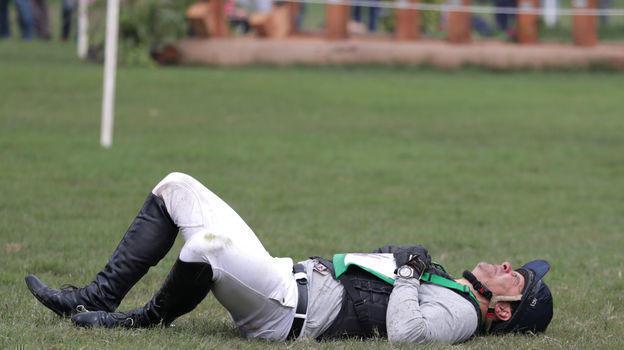 4 августа. Лима. Падение Руя Фонсеки. Фото REUTERS