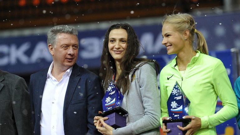 Дмитрий Шляхтин, Мария Ласицкене и Дарья Клишина. Фото Алексей Иванов