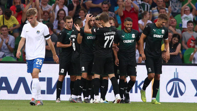 Футбол боруссия дортмунд сегодня краснодар счет