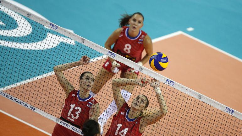 Женская сборная России по волейболу обыграла Корею и отобралась на Олимпиаду-2020. Кто за ней? Фото fivb.org