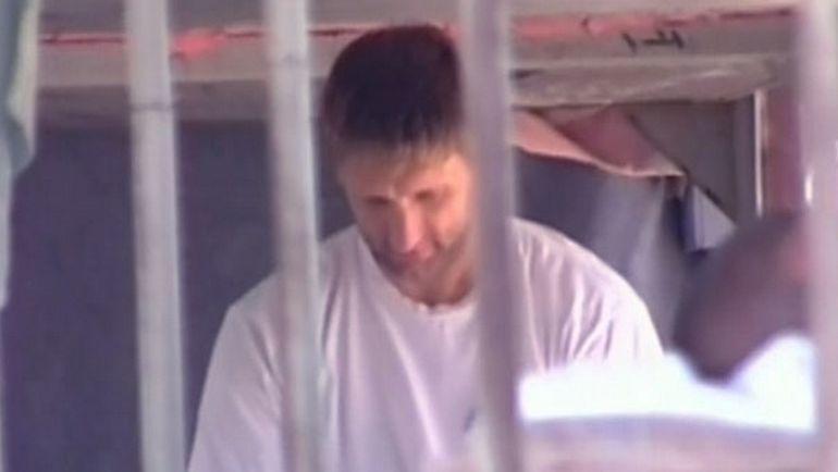 Август 2011 года. Николай Хабибулин в аризонской тюрьме. Фото Twitter