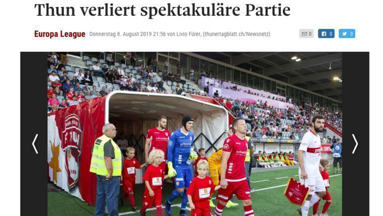 Thuner Tagblatt.