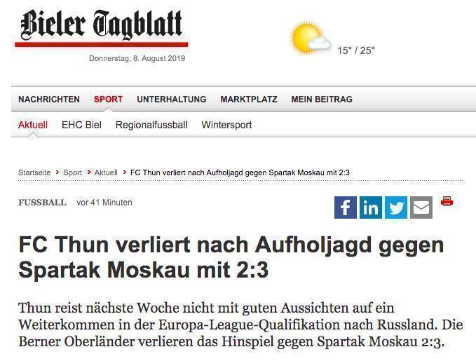 Bieler Tagblatt.