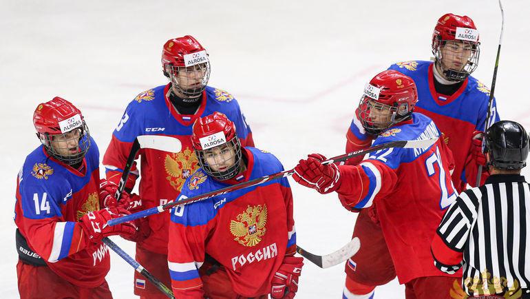 Юниорская сборная России - победитель Кубка Глинки/Гретцки. Фото http://fhr.ru, photo.khl.ru