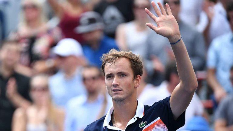 Даниил Медведев вышел в финал турнира в Монреале, обыграв соотечественника Карена Хачанова. Фото ATP Tour