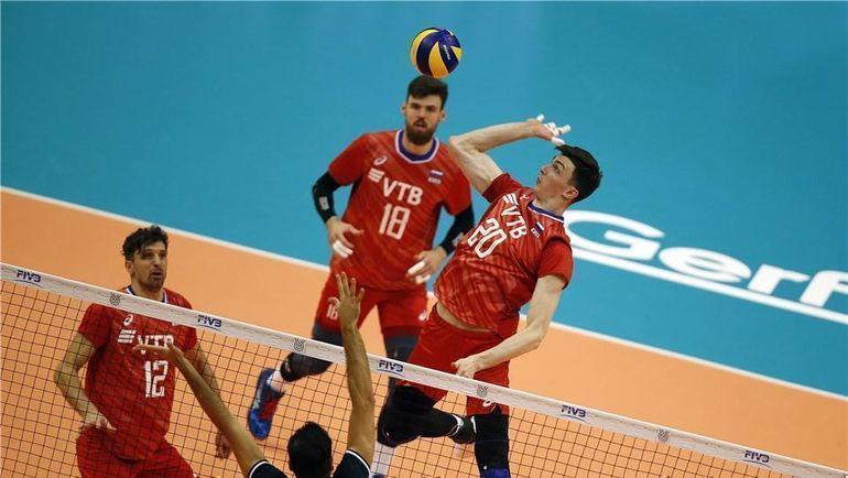 11 августа. Санкт-Петербург. Россия - Иран - 3:0. Фото FIVB