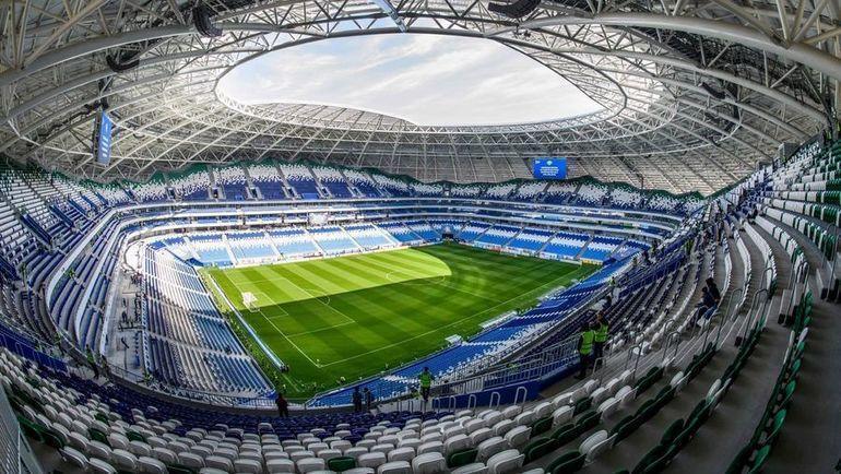 """Стадион """"Самара Арена"""", на котором выступают """"Крылья Советов"""". Фото AFP"""