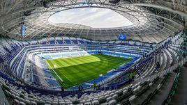 """Стадион """"Самара Арена"""", на котором выступают """"Крылья Советов""""."""