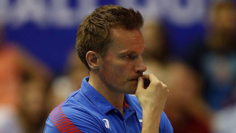 Главный тренер сборной России Туомас Саммелвуо. Фото FIVB