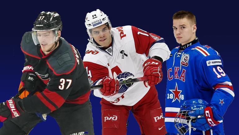 Андрей Свечников, Григорий Денисенко, Василий Подколзин.