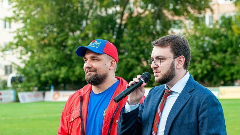Баста и Станислав Дружинин. Фото Анастасия Осипова