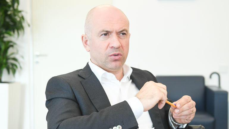 Генеральный директор УК «Динамо» Андрей Лунтовский. Фото Дарья Исаева, «СЭ» / Canon EOS-1D X Mark II