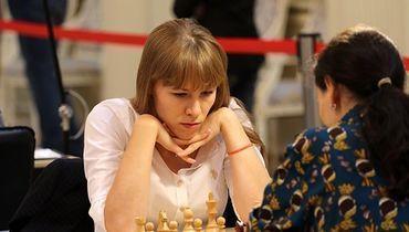 Ольга Гиря на турнире в Ижевске.