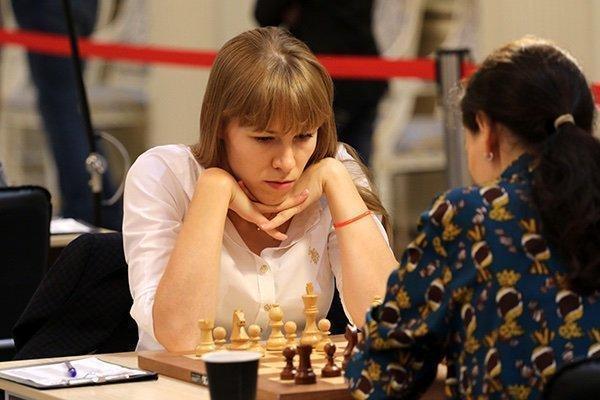 Ольга Гиря на турнире в Ижевске. Фото РШФ