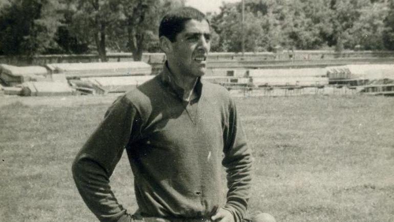 1966 год. Вратарь махачкалинского «Динамо» АлександрЛьвов. Фото из личного архива Александра Львова