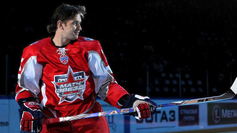 Денис Гребешков. Фото photo.khl.ru
