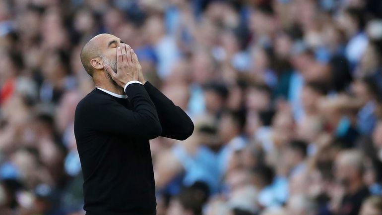 17 августа. Манчестер. «Манчестер Сити» — «Тоттенхэм» — 2:2. Хосеп Гвардьола. Фото Reuters