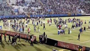 Футбольный адвГондурасе: драка, поножовщина игаз