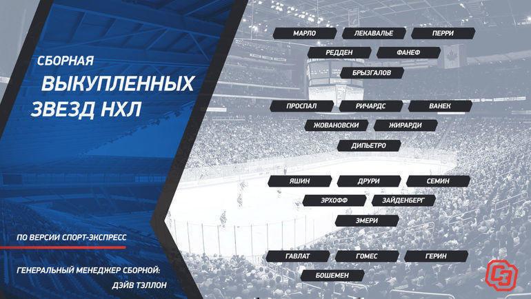 """Сборная выкупленных звезд НХЛ. Фото """"СЭ"""""""