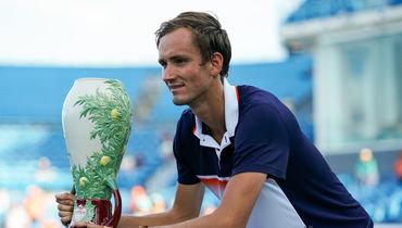 Медведев  - чемпион турнира вЦинциннати. Теперь онсреди лучших
