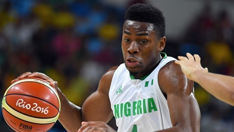 Форвард сборной Нигерии Бен Узо. Фото Reuters