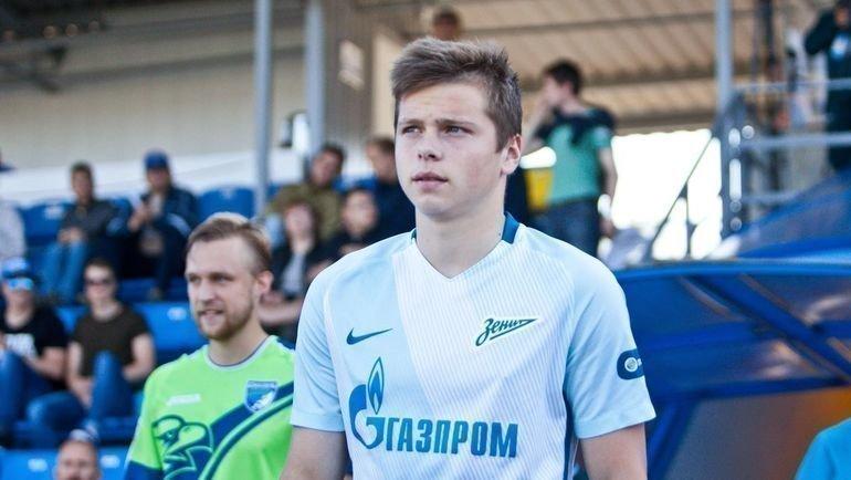 "Данил Круговой. Фото Твиттер ""Зенит-2"""