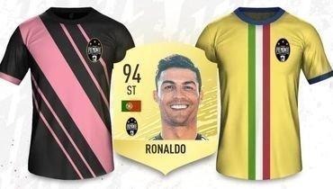 """Криштиану Роналду и """"Ювентус"""" в FIFA 20."""