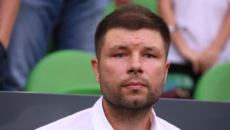 """Тренер """"Краснодара"""" Мурад Мусаев. Фото Виталий Тимкив"""