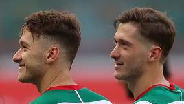 Антон Миранчук (слева) - Алексей Миранчук.