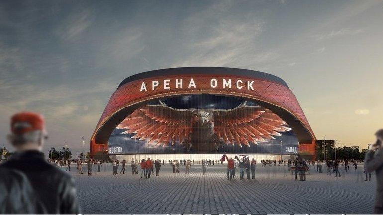 Макет новой арены «Авангарда». Фото ХК «Авангард»