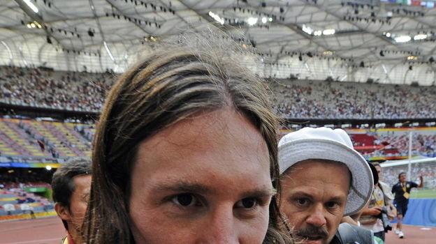 23 августа 2008 года. Пекин. Нигерия - Аргентина - 0:1. Лионель Месси. Фото AFP