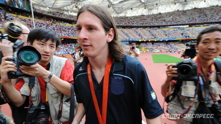 23 августа 2008 года. Пекин. Нигерия - Аргентина - 0:1. Лионель Месси.