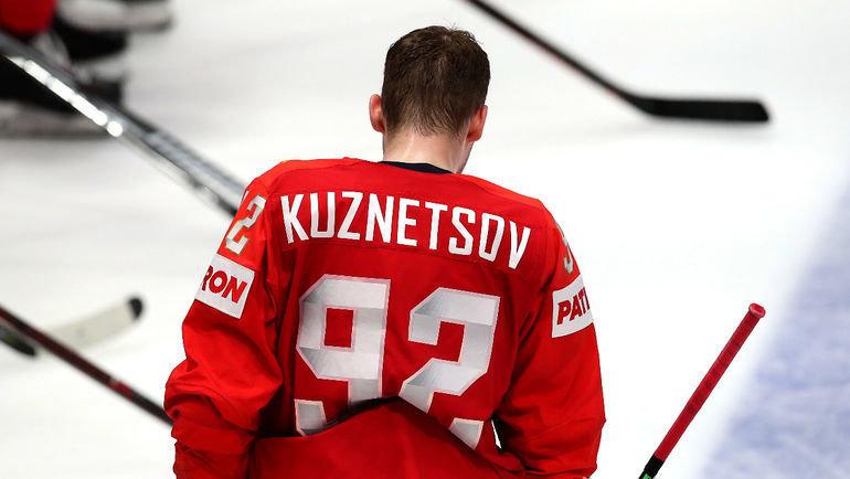 Евгений Кузнецов. Фото Владимир Беззубов, photo.khl.ru