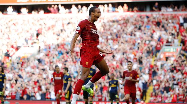 24 августа. Ливерпуль. «Ливерпуль» - «Арсенал» - 3:1. Жоэль Матип. Фото REUTERS