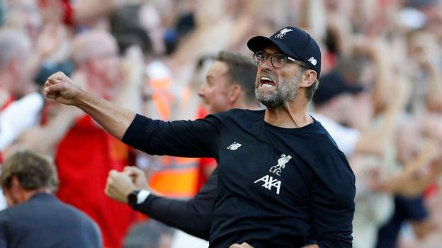 24 августа. Ливерпуль. «Ливерпуль» - «Арсенал» - 3:1. Юрген Клопп. Фото REUTERS