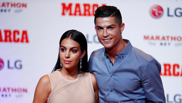 Джорджина Родригес и Криштиану Роналду. Фото Reuters